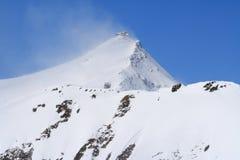 Peak in wind Stock Photography