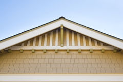 Peaked roof detail Stock Photos