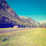 Peaks of the Alps Royalty Free Stock Images
