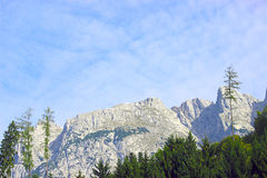 Peaks of Alps Stock Photography