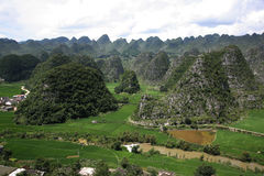 Peaks in china. royalty free stock photography