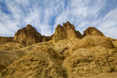 Peaks in Death Valley Stock Photo