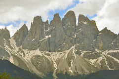 Peaks of Dolomites Royalty Free Stock Image