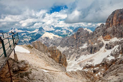 Peaks of the Dolomites, Italy Royalty Free Stock Photos