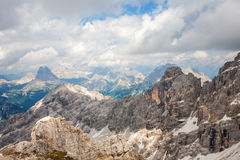 Peaks in the Dolomites Stock Photos
