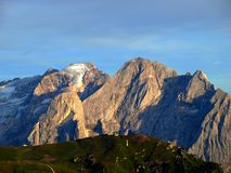 Peaks of Dolomiti mountains Stock Image