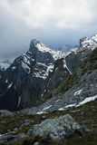 Peaks of Europe Royalty Free Stock Photography