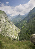 Peaks of Europe, in Asturias, Spain Stock Image