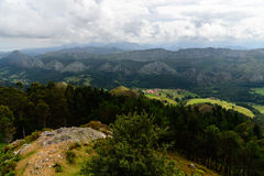 By peaks in Europe Asturias, Spain Royalty Free Stock Photography