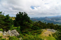 By peaks in Europe Asturias, Spain Royalty Free Stock Images