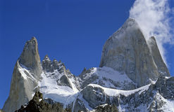 The peaks of Fitz roy Royalty Free Stock Photos