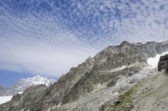 Peaks of french Alps Royalty Free Stock Photos