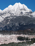 Peaks of High Tatras in winter Royalty Free Stock Photography