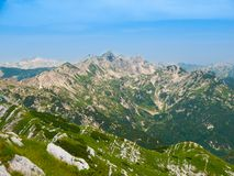 Peaks of Julian Alps Royalty Free Stock Image