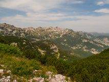 Peaks of Julian Alps Stock Photography