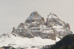 Peaks of lavaredo, dolomites, Italy Stock Image