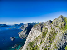 Peaks on Lofoten Stock Photos