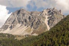 Peaks in the mountain Stock Photos