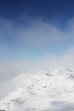 Peaks of mountains Stock Photo