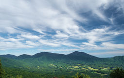 Peaks of Otter from the  Blue Ridge Parkway Stock Photo
