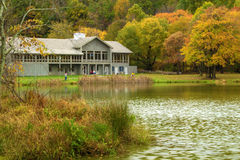 Peaks of Otter Lodge in the Autumn of the Year Royalty Free Stock Photos