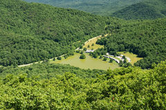 Peaks of Otter Lodge, Virginia, USA Stock Photography