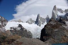 Peaks in Patagonia Stock Image