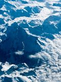 Stunning overview of the Swiss Alps royalty free stock images