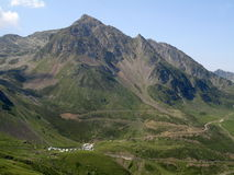 Peaks in Pyrennes royalty free stock images
