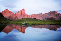 Pyrenees in France royalty free stock images
