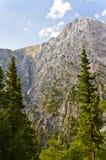 Peaks of Samaria gorge Royalty Free Stock Photo