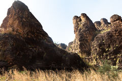 The peaks of Sindou Royalty Free Stock Image