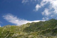 Peaks on sky Stock Image