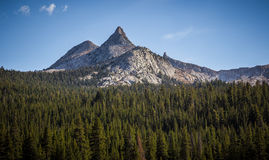 Peaks of Tuolumne Meadows Royalty Free Stock Photo