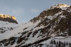 Peaks of Val d'isere - Day 2 Stock Image