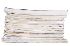 Peal of magazines Stock Image