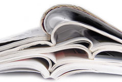 Peal of magazines Stock Photography