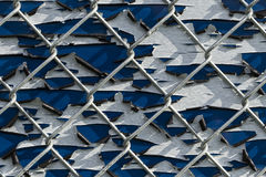 Pealing Paint Fence Abstract Stock Photos