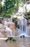 Peang Din waterfall in Northeast thailand Stock Photos