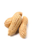 Peanut-Arachis hypogaea. This image is available for clipping work Royalty Free Stock Image