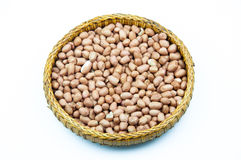 Peanut (arachis hypogaea) in tray Royalty Free Stock Image