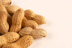 Peanut background Stock Photography