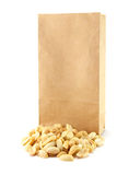 Peanut bag Royalty Free Stock Images