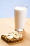 Peanut & Banana Stock Images