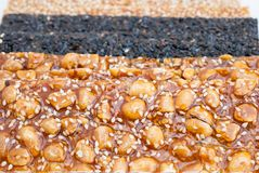Peanut bar Royalty Free Stock Photography