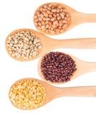 Peanut, Bean And Lentils I Stock Photo