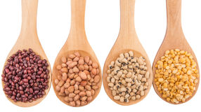 Peanut, Bean And Lentils IX Royalty Free Stock Photos