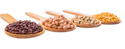 Peanut, Bean And Lentils VII Royalty Free Stock Photo
