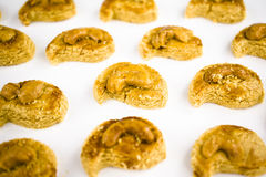 Peanut biscuit Royalty Free Stock Images