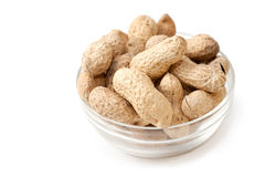 Peanut in the bowl Royalty Free Stock Photography